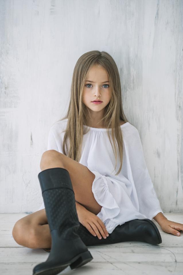 Девятилетняя россиянка признана самой красивой девочкой в мире.