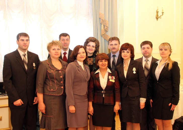 Победитель и лауреаты областного конкурса«Учитель года России» в 2014 г.
