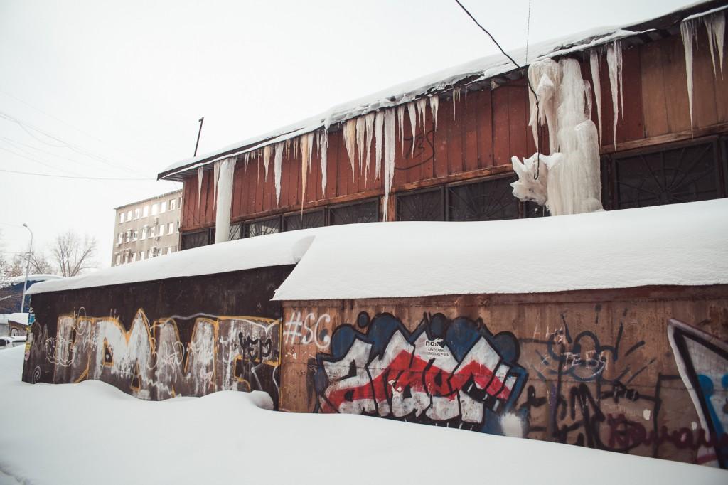 Очистка кровли от снега и наледи свао москвы