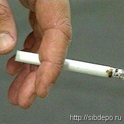 Сигарета унесла жизнь человека