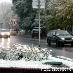 С первым снегом на дорогах Кемерова число аварий увеличилось почти вдвое