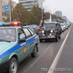 В Кемерове прошел автопробег «Пожилым пешеходам – особое внимание!»