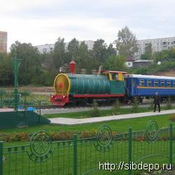 В выходные дети смогут бесплатно покататься на детской железной дороге