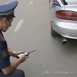 Каждый десятый автомобиль Кузбасса слишком шумный