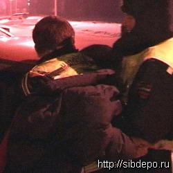 В Кемерове пьяного водителя усмирили с помощью слезоточивого газа