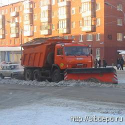 Снегоочистительная машина сбила ребенка