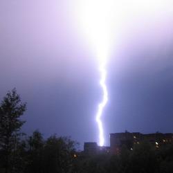 В Кузбасс идут дожди и грозы