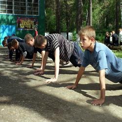 В Кузбассе готовят юных спецназовцев