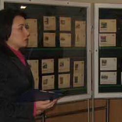 В Кемеровском главпочтамте открылась филателистическая выставка