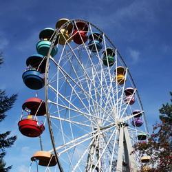Новое колесо обозрения установят в Кемеровском горсаду