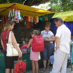 В Кемерове открылись школьные базары
