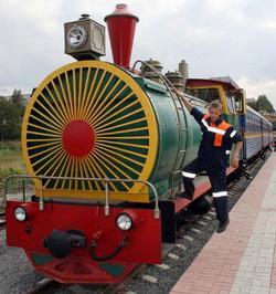 Детская железная дорога в Кемерове за лето перевезла более  20 тысяч пассажиров