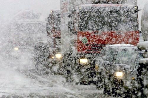 На трассе Кемерово - Ленинск-Кузнецкий столкнулось 25 машин
