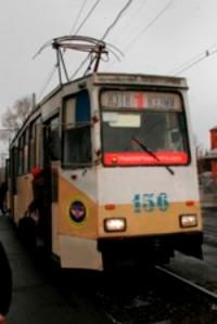 ДТП в Кемерове парализовало движение трамваев