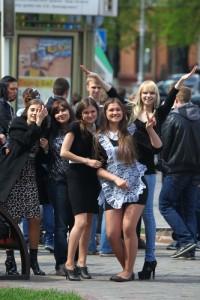 Кемеровские выпускники отмечали свой праздник подальше от людских глаз