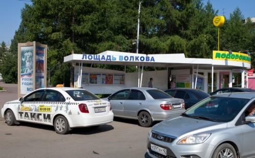 """В Кемерове появилась остановка """"лошадь Волкова"""""""