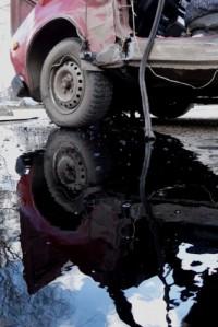 В Междуреченске пьяный водитель въехал в толпу на пешеходном переходе (видео)