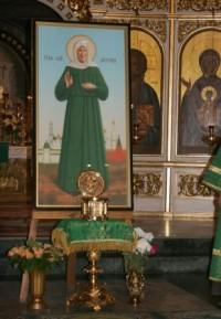 Стало известно расписание дополнительного пребывания мощей блаженной Матроны Московской в Кузбассе
