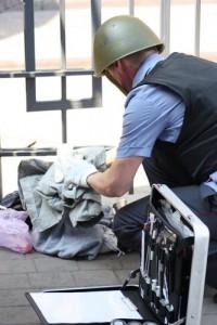 Забытую сумку на кемеровском автовокзале приняли за бомбу (ФОТО)