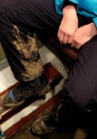 Кемеровского вора картофеля полиции выдали грязные ботинки