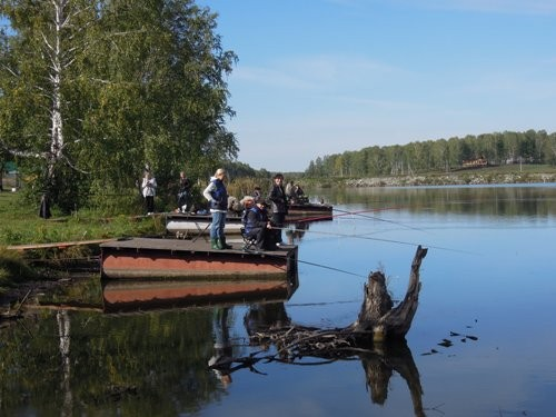 рыбалка на глубоком кемерово