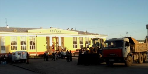 Новые эксклюзивные фото с места ЧП в Белове