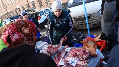 Продовольственная ярмарка в Кемерове (фото/видео)