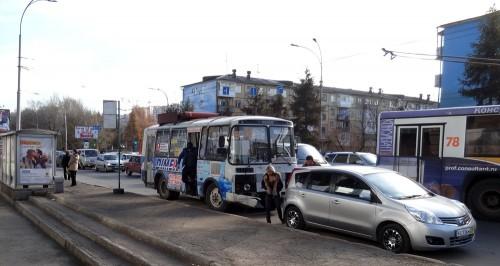 Очередное ДТП с участием маршрутного такси произошло в Кемерове (фото/видео)
