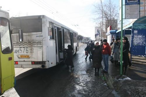 изменения в маршруте кемеровских автобусов