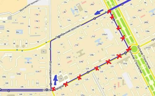 УЕЗТУ предлагает урезать путь троллейбусного маршрута №11