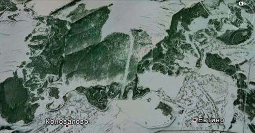 В лесу Беловского района со спутника замечены следы НЛО