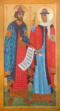 Икона с мощами святой Февронии будет передана кемеровскому храму