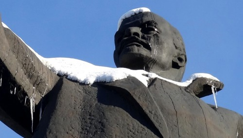 Lenin was crying