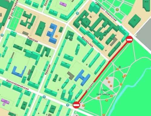 В связи с ограничением движения транспорта 1 мая кемеровская ГИБДД рекомендует автолюбителям ездить на автобусах