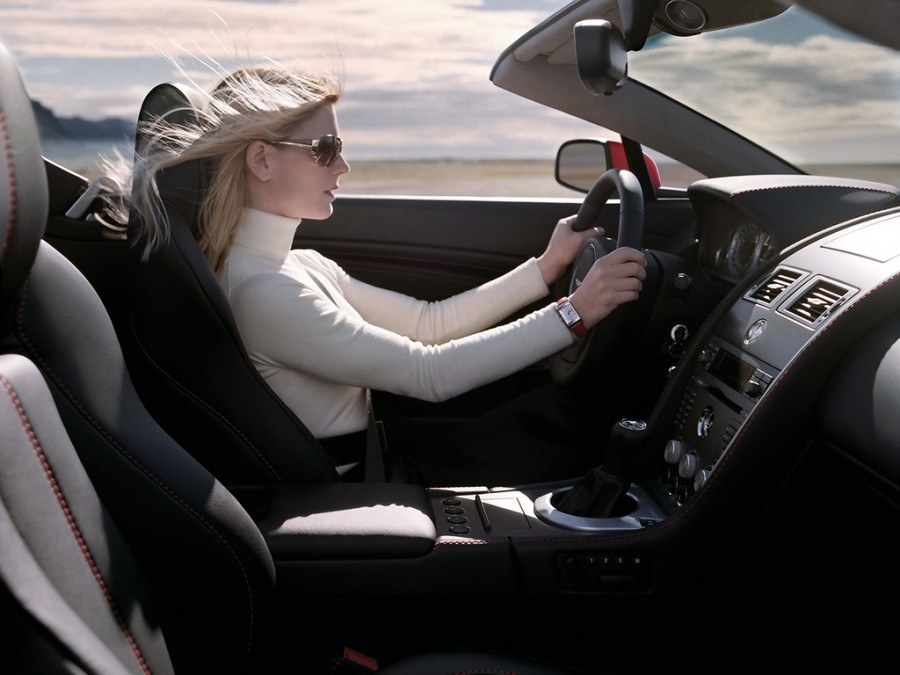 Woman-driving