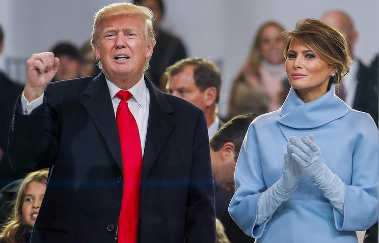 Трамп прибыл вБелый дом