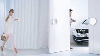Opel опубликовал первое фото новой модели Crossland X