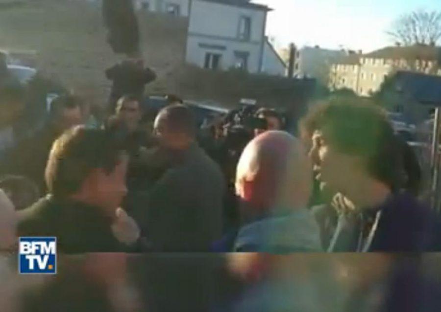 Кандидату впрезиденты Франции влепили пощечину наулице