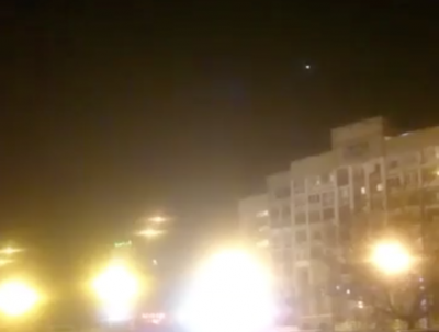 Новокузнечанка запечатлела на видео НЛО в небе над городом