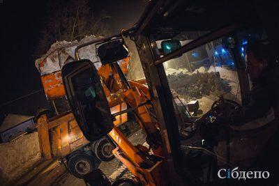 В Кемерове 85% дворов очищены от снега