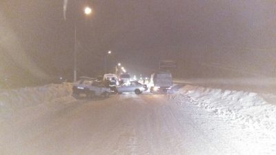 В Юрге произошло тройное ДТП, есть пострадавшие