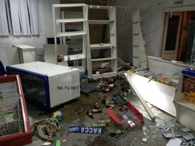 В Таштагольском районе неизвестные взорвали банкомат, в котором не было денег