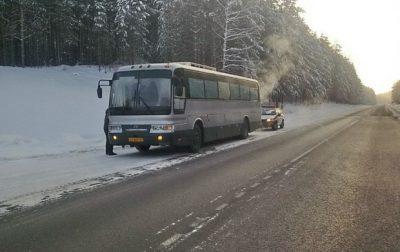 Автобус «Кемерово – Новокузнецк» сломался на трассе в -30°С