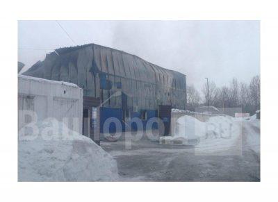 В новокузнецком магазине сгорело 100 «квадратов» стройматериалов
