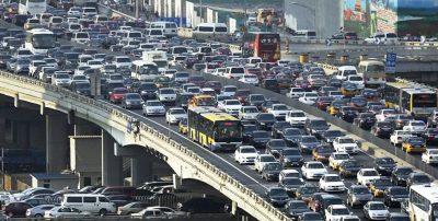 Google составил рейтинг городов России с самыми большими дорожными пробками