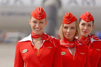 Стюардессы будут судиться с «Аэрофлотом» за дискриминацию «старых, толстых и страшных»