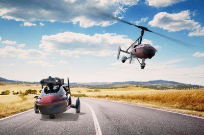 Летающие автомобили начали продавать в Голландии
