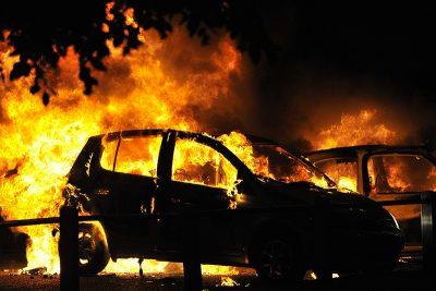 Четыре автомобиля сгорели в Кузбассе за сутки