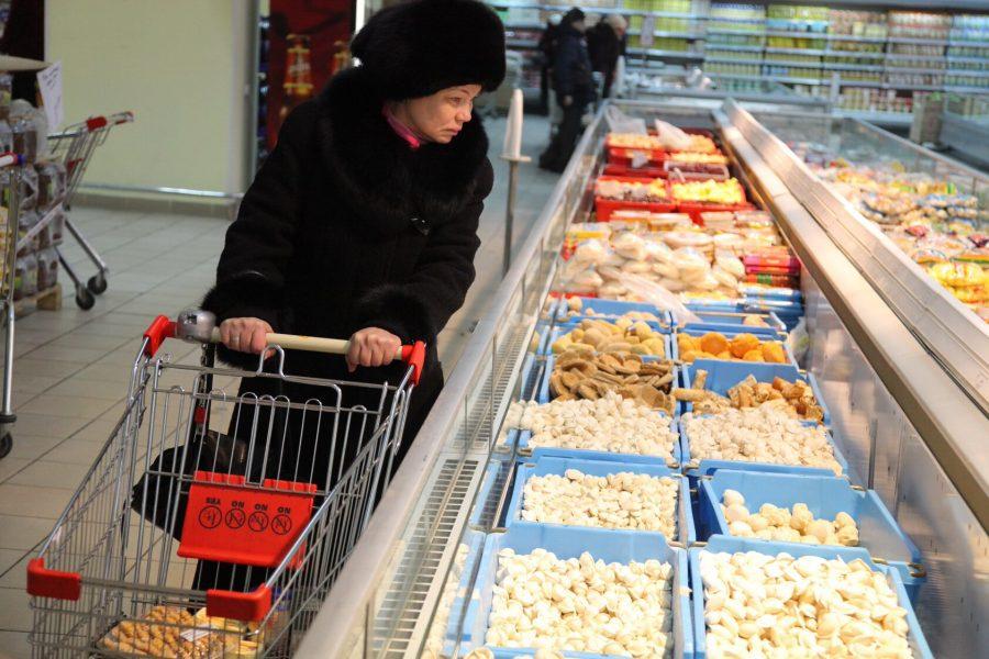 Цены напродукты вПрикамье заянварь увеличились на1,1%