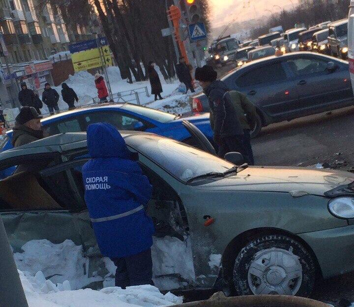 ВДТП наЛенина пострадала пассажирка— ГИБДД
